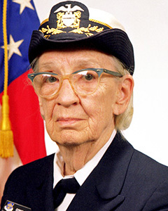 Grace Hopper By James S. Davis [Public domain], via Wikimedia Commons