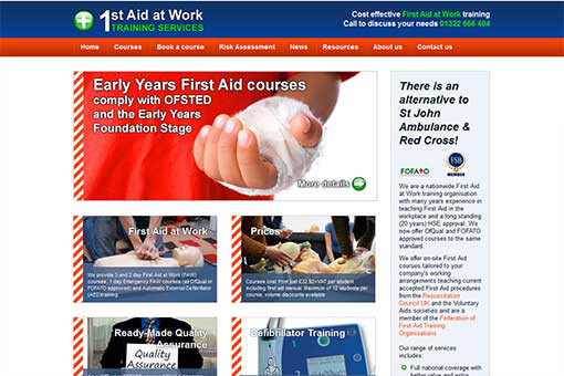 First Aid At Work Training Services